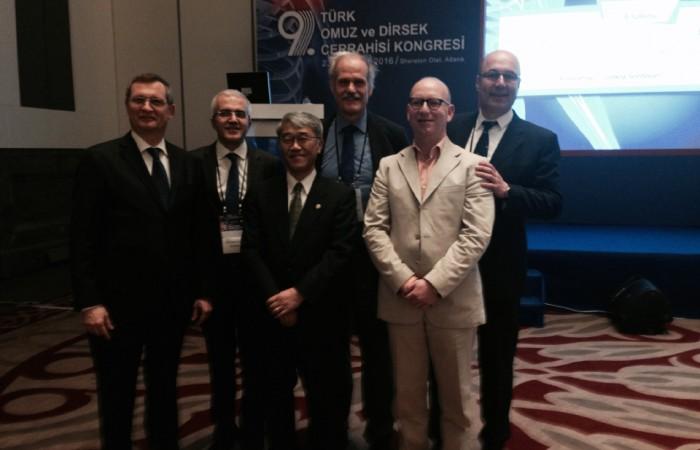 9. Türk omuz ve dirsek cerrahisi kongresi gerçekleşti.